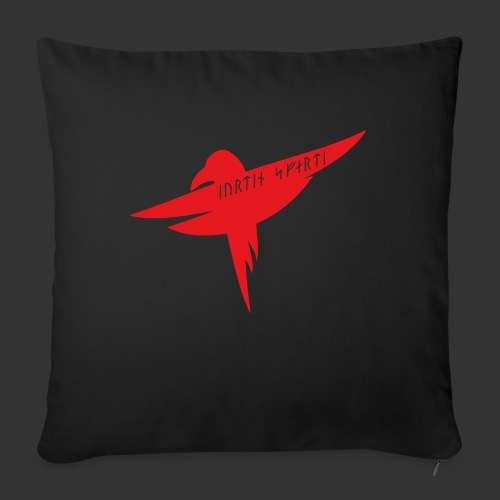 Raven Red - Sofa pillow with filling 45cm x 45cm