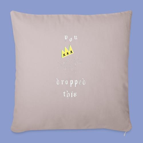 you dropped this - Cuscino da divano 44 x 44 cm con riempimento