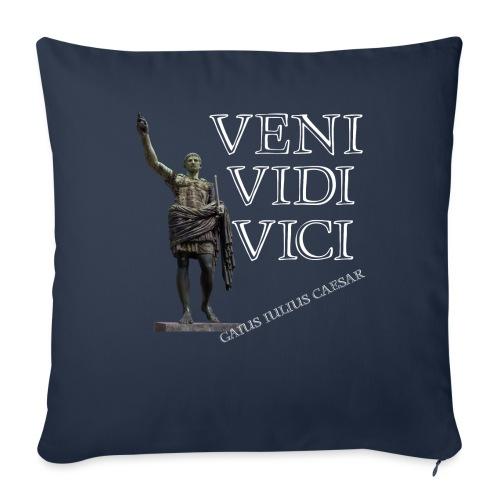 Giulio Cesare, veni vidi vici - Cuscino da divano 44 x 44 cm con riempimento
