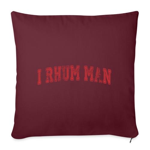 I RHUM MAN SPORT - Coussin et housse de 45 x 45 cm