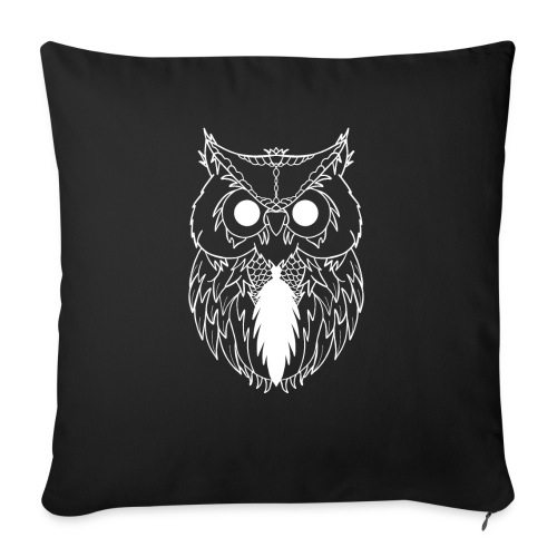 Business Owl - Sofa pillow with filling 45cm x 45cm