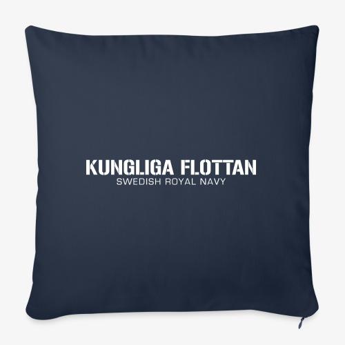 Kungliga Flottan - Swedish Royal Navy - Soffkudde med stoppning 44 x 44 cm