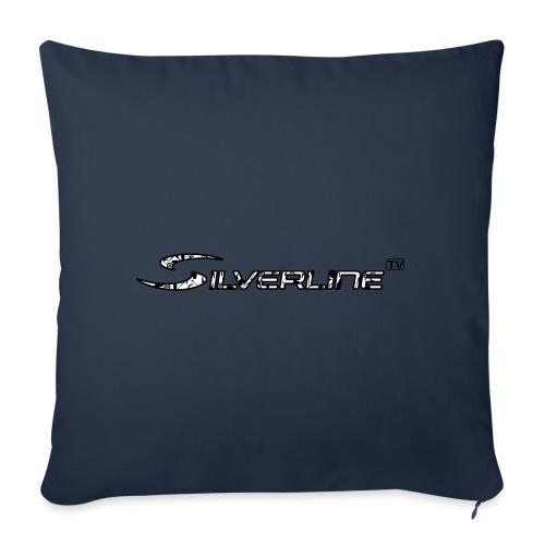 Silverline TV Logo - Sofakissen mit Füllung 44 x 44 cm