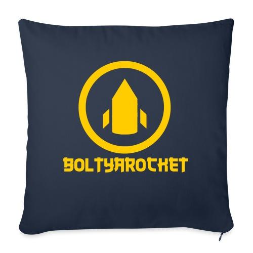 Bolt Ya Rocket - Sofa pillow with filling 45cm x 45cm