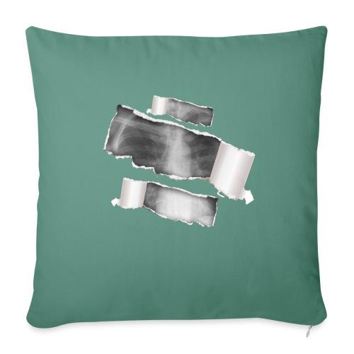 Chest X-Ray - Cuscino da divano 44 x 44 cm con riempimento