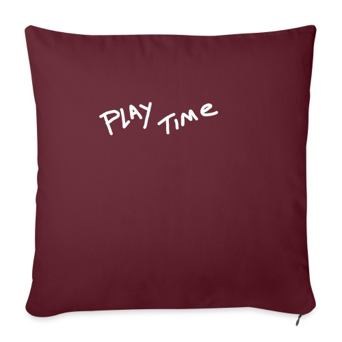 Play Time Tshirt - Sofa pillow with filling 45cm x 45cm