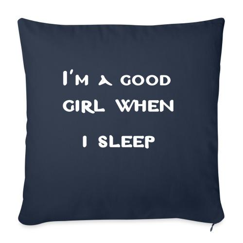 i am good girl when i sleep. - Cuscino da divano 44 x 44 cm con riempimento
