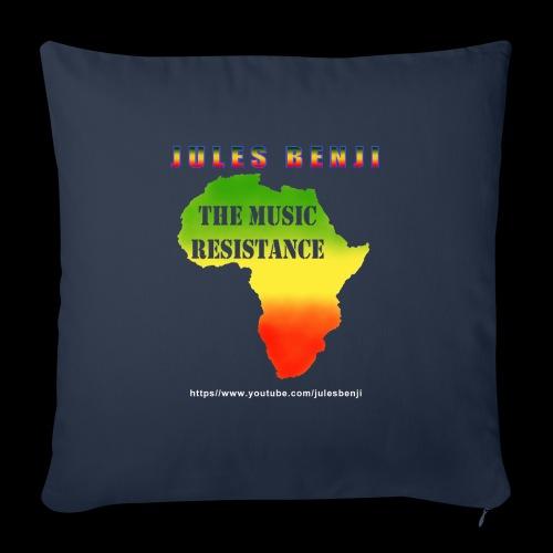 JULES BENJI & MUSIC RESISTANCE africa design - Sofa pillow with filling 45cm x 45cm
