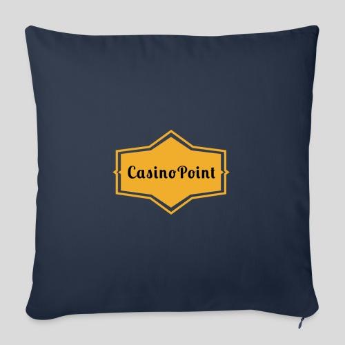 logo transparent copies - Sofa pillow with filling 45cm x 45cm