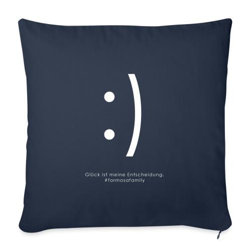 #formosafamily Smile :) - Sofakissen mit Füllung 44 x 44 cm