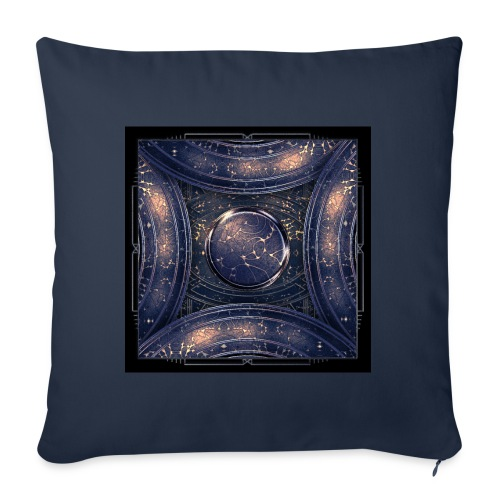 Out of the Blue - Galaxy Galaxy - Sofa pillow with filling 45cm x 45cm