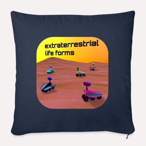 Leben auf dem Mars - Sofa pillow with filling 45cm x 45cm