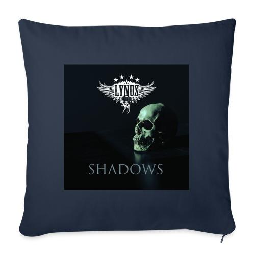 Lynus Shadows EP Art Promo Design - Sofa pillow with filling 45cm x 45cm