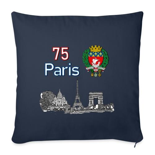 Paris france - Coussin et housse de 45 x 45 cm