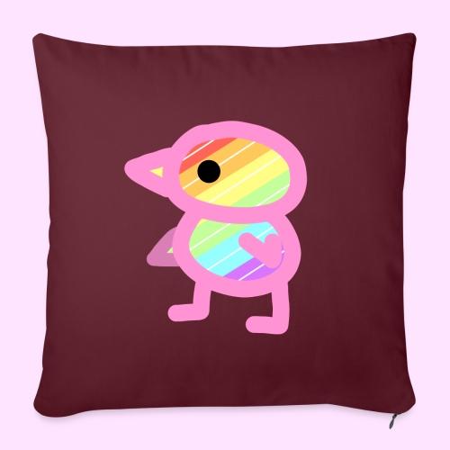 Rainbowguin - Sofapude med fyld 44 x 44 cm