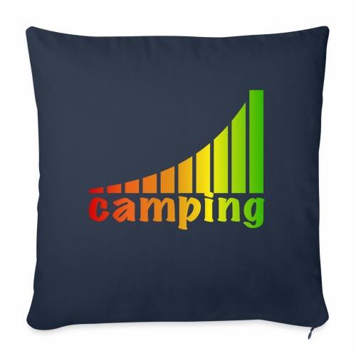 energietankstelle camping - Sofakissen mit Füllung 44 x 44 cm