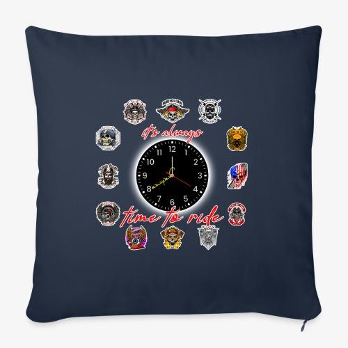 It's always time to ride - Collection - Cuscino da divano 44 x 44 cm con riempimento