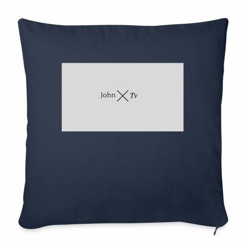john tv - Sofa pillow with filling 45cm x 45cm