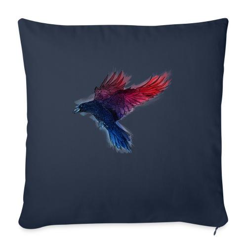 Watercolor Raven - Sofakissen mit Füllung 44 x 44 cm