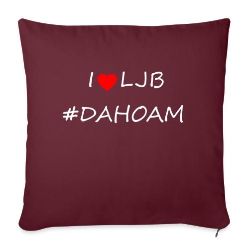 I ❤️ LJB #DAHOAM - Sofakissen mit Füllung 44 x 44 cm