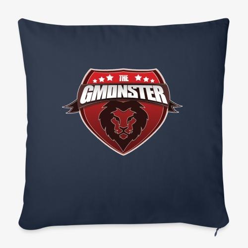 TheGMonster Logo Grand - Coussin et housse de 45 x 45 cm