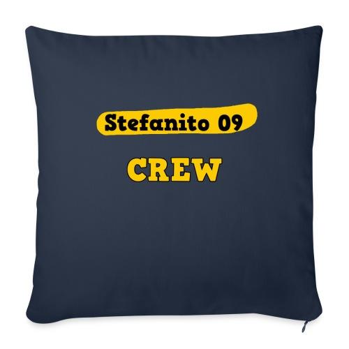 Stefanito09 Crew - Sofakissen mit Füllung 44 x 44 cm