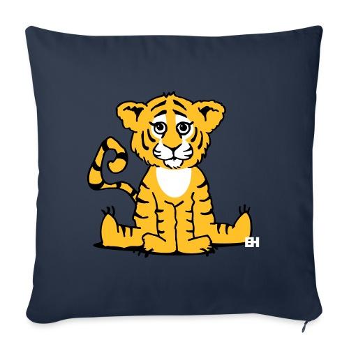 Tiger cub - Sofa pillow with filling 45cm x 45cm