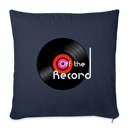 Off the Record - Sohvatyynyt täytteellä 44 x 44 cm