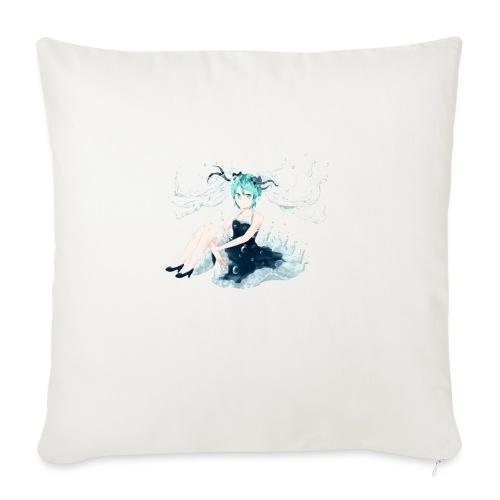 Water Miku O.C. - Cuscino da divano 44 x 44 cm con riempimento