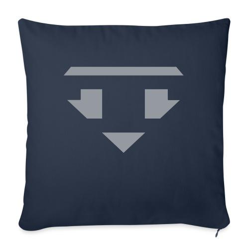 Twanneman logo Reverse - Bankkussen met vulling 44 x 44 cm
