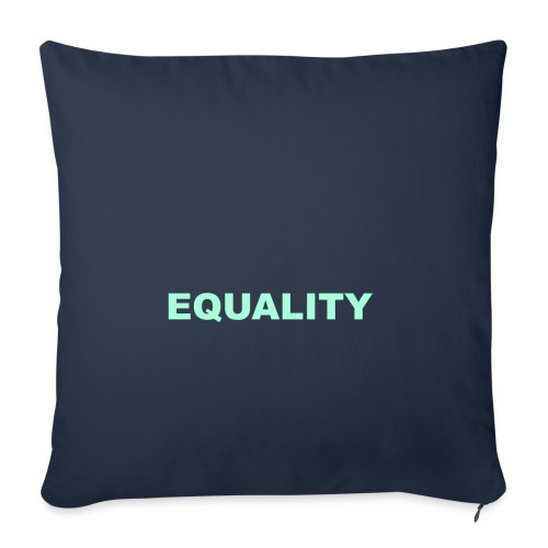 EQUALITY tote - Sofapute med fylling 44 x 44 cm