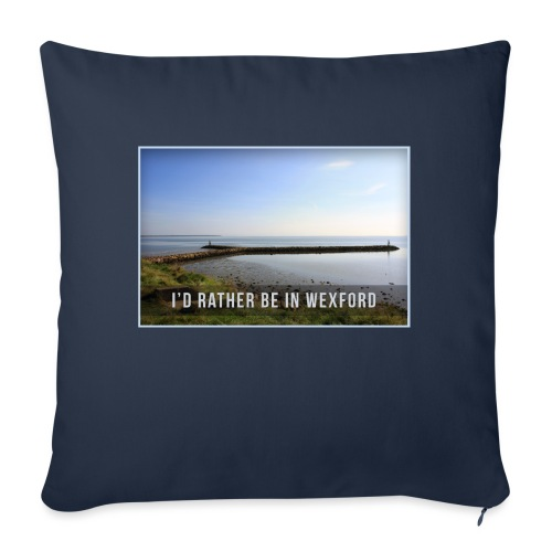 Rather be in Wexford - Sofa pillow with filling 45cm x 45cm