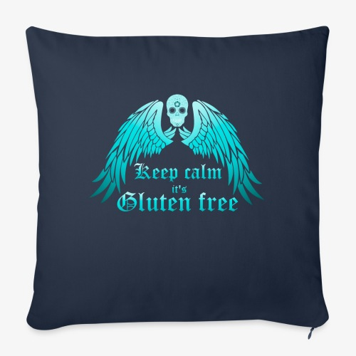 Keep calm it's Gluten free - Sofa pillow with filling 45cm x 45cm