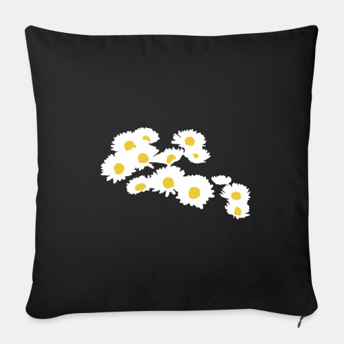 Spring Season Daisies - Sofa pillow with filling 45cm x 45cm