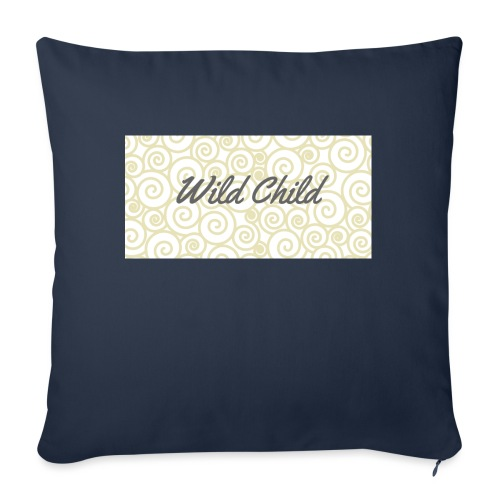Wild Child 1 - Sofa pillow with filling 45cm x 45cm
