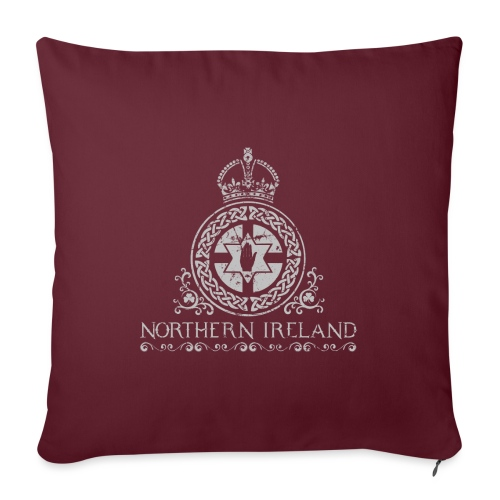 Northern Ireland arms - Sofa pillow with filling 45cm x 45cm