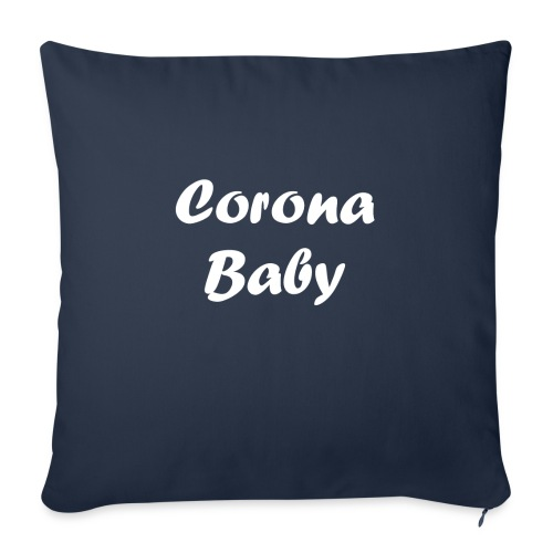 Corona baby merchandise white - Sofa pillow with filling 45cm x 45cm