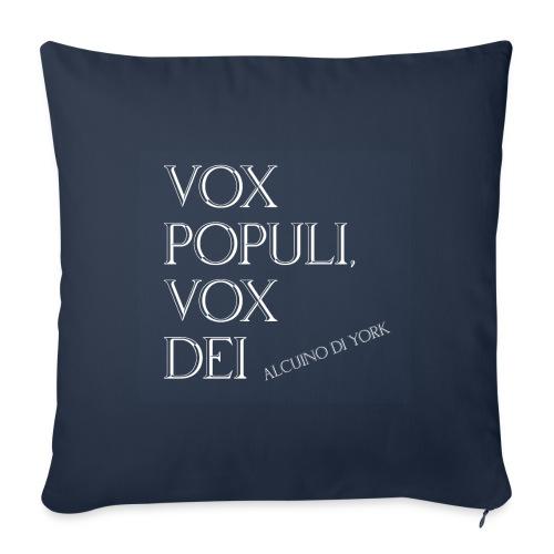 vox populi vox dei - Cuscino da divano 44 x 44 cm con riempimento