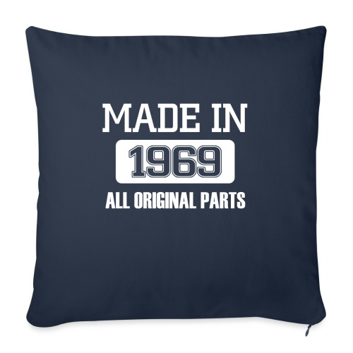 Made in 1969 - Sofa pillow with filling 45cm x 45cm