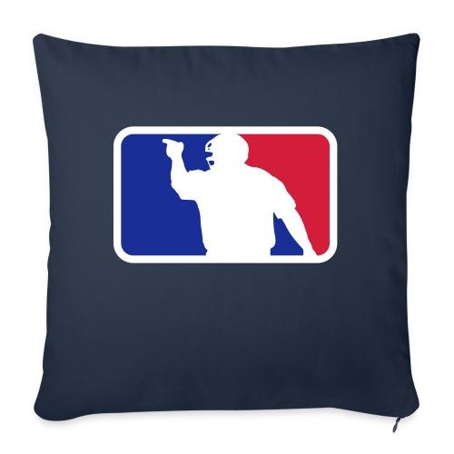 Baseball Umpire Logo - Sofa pillow with filling 45cm x 45cm