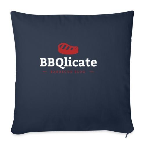 BBQlicate Logo - Sofakissen mit Füllung 44 x 44 cm