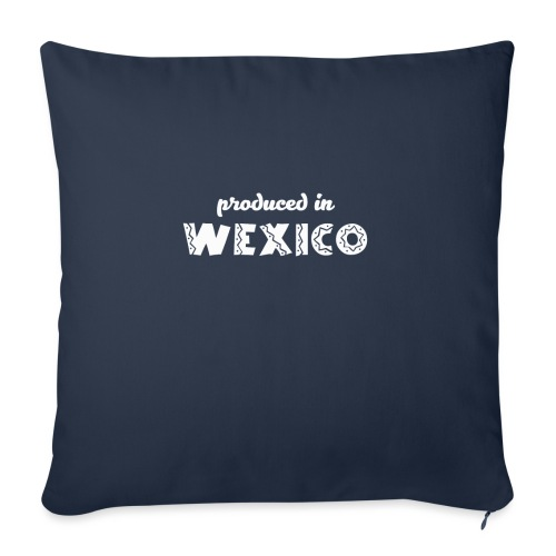 Wexico White - Sofa pillow with filling 45cm x 45cm