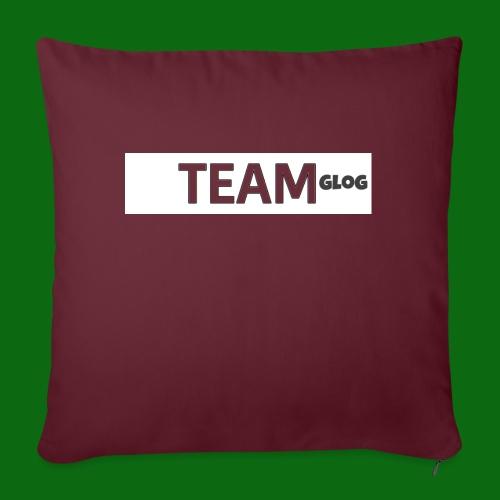 Team Glog - Sofa pillow with filling 45cm x 45cm