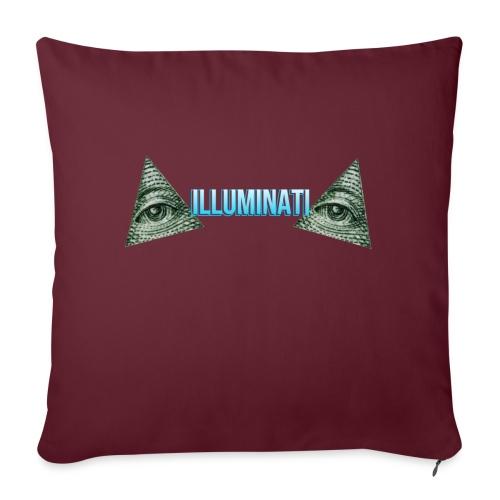 ILLUMINATI - Sofapude med fyld 44 x 44 cm