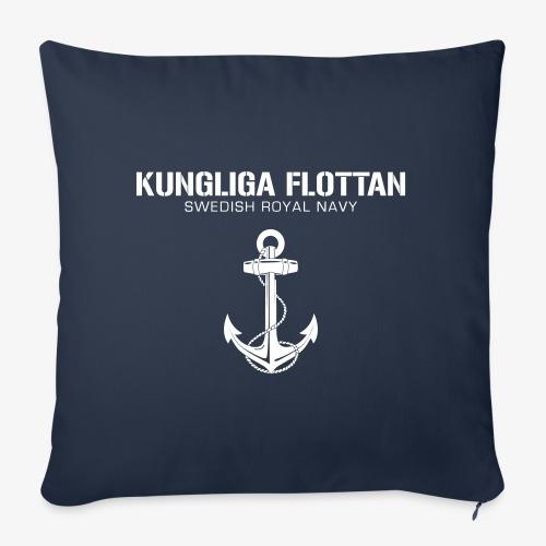 Kungliga Flottan - Swedish Royal Navy - ankare - Soffkudde med stoppning 44 x 44 cm