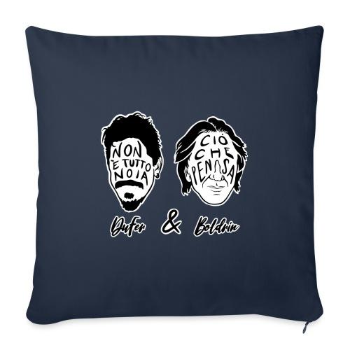 DuFer & Boldrin - Cuscino da divano 44 x 44 cm con riempimento