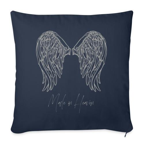 heaven - Cojín de sofá con relleno 44 x 44 cm