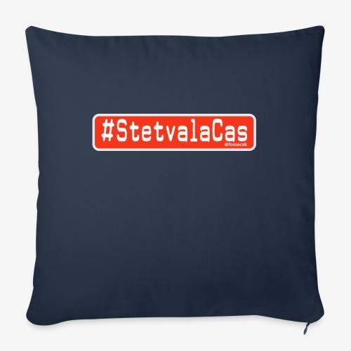 Stetv a la Cas Anti CoronaVirus - Cuscino da divano 44 x 44 cm con riempimento