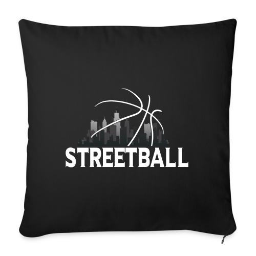 Streetball Skyline - Street basketball - Sofa pillow with filling 45cm x 45cm
