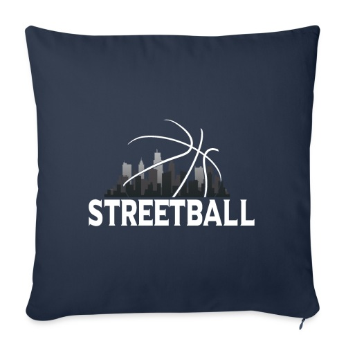 Streetball Skyline - Street basketball - Sofa pillow with filling 45cm x 45cm